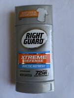 Right Guard Xtreme Defense Arctic Refresh Antiperspirant/Deodorant 2.6 oz