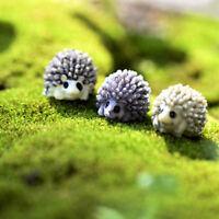 Animal Little Hedgehog Micro Landscape Dollhouse Resin Diy Garden Ornament   RK