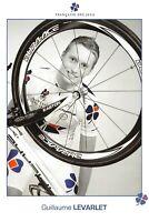 """CYCLISME 2009 """"Guillaume LEVARLET - EQUIPE FRANÇAISE DES JEUX 2009"""" Carte 10X15"""