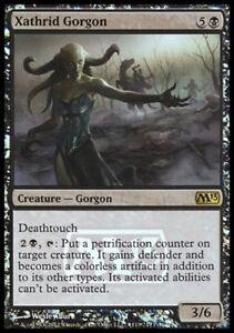 MTG FOIL Xathrid Gorgon [FOIL, English, Magic 2013 Prerelease, Free P&P]