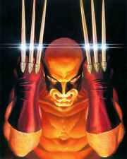 Art Print on Canvas Anime Poster Visions Wolverine Home Wall Decor Unframed