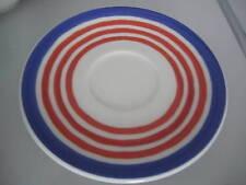 Rosenthal CASUAL Designers Guild UNTERTELLER 16,5 cm blau rot Untertasse