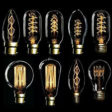Vintage Filament LED Edison Bulb Dimmable 40W E27 Decorative Industrial Light A+
