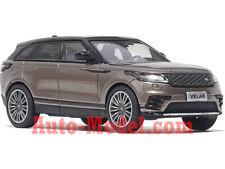 1:64 LCD Models 2017 Land Rover Range Rover Velar Brown Metallic
