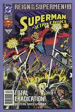 Action Comics #690 (1993) Newsstand [Reign of Supermen] Stern Jackson Guice k