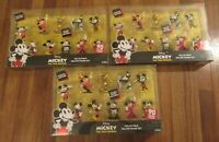 (3) Disney Mickey The True Original 10 Piece Figure Set Special Edition 90 Year