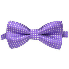Boy Kid Fashion Solid Color Polka Dots Bow Tie Wedding Formal Tuxedo Bowties