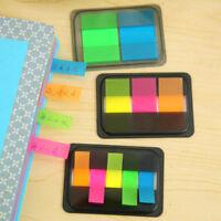 Popular Bookmark Sticky Notes Sticker Marker Index Pad Tab Memo Flag Label Paper