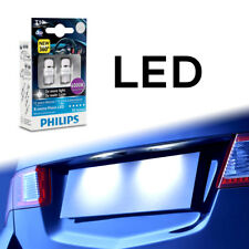 Philips 6000K Genuine  T10 W5W LED Bulbs for Side Markers / Park Lamp Cool White