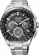 Citizen Attesa Eco-Drive CC9015-54E GPS Satellite Radio Clock F900From Japan