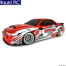 Hobby Products Intl. 109385 Nissan Silva S13 Clear Body Shell 200mm