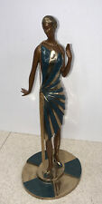 "Erte Limited Edition 333/375 Bronze:""Roaring Twenties"" Romain De Tirtoff"
