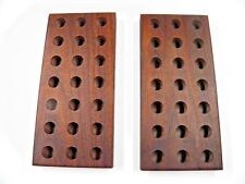 45-70 loading block  wooden walnut  reloading tray  21 holes