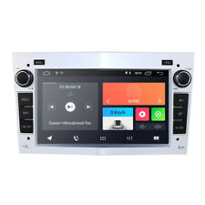 Silver Android 9.0 Car Stereo DSP GPS Navigation DAB+Wifi for Opel Zafira Vectra