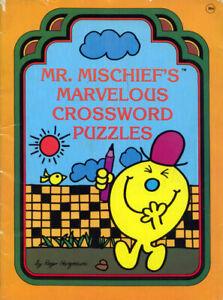 Mr. Men coloring activity book RARE