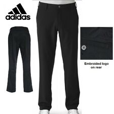 New ADIDAS Mens Climacool Golf Trousers Vented Pants - Straight Leg -  Black