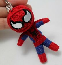Spiderman Superhero Voodoo Figural Keyring Keychain Handmade Doll Craft Toy Bag