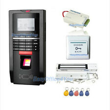 Biometric Fingerprint+RFID Card Door Access Control System Kits+Magnetic lock