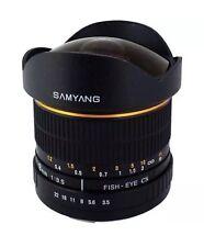 Samyang 8mm F3.5 FISH-EYE CS(AE) Nikon Mount