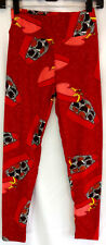 Lularoe OS One Size Leggings Pink Red Heart Candy Valentines Soft Stretch