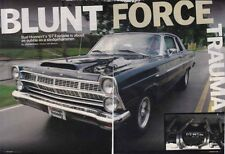 1967 FORD FAIRLANE MODIFIED 514 ~ VERY NICE 5-PAGE ARTICLE / AD