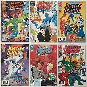 Justice League Europe #s 35 36 37 38 39 40 Run Lot of 6 DC Comic Books 1992