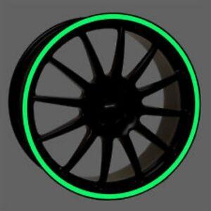 3M™ Green 7mm x 6M Fluorescent Motorbike/Car Wheel Rim Vinyl Stripes/Stickers !