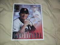NOMAR GARCIAPARRA 1998 DONRUSS BASEBALL STUDIO PORTRAIT 8 X 10 CARD #13 RED SOX