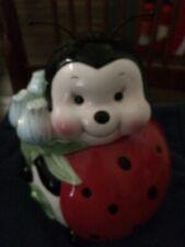 Burton and Burton Lil Ladybug Ceramic Cookie Jar