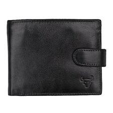 Portafogli da uomo bifold nero con porta carte di credito