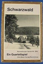 Quartett - Schwarzwald - Ravensburger Spiele Nr. 258 - Quartettspiel Otto Maier
