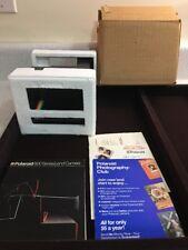 Polaroid Spirit Rainbow Black 600 Film Instant Camera + Bonus Film Expired 08/07