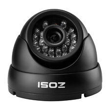 ZOSI 1000TVL CCTV Outdoor Dome Security Camera Black Night Vision Waterproof