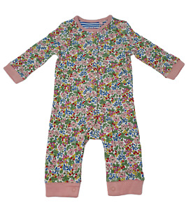Ex Baby Boden Floral Baby Grow Romper Age 0-3 to 18-24 Months