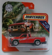 Matchbox '95 Nissan Hardbody D21 red short card __ read before bid