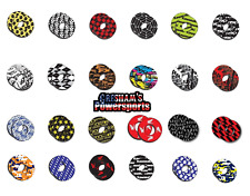 Motocross Handlebar Grip Donuts Licensed Dirt Bike Motorcycle Suzuki Kawasaki!!!