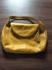 Onna Ehrlich Hobo Leather Tassle Large Shoulder Bag