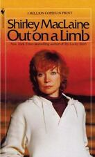 OUT ON A LIMB by SHIRLEY MACLAINE (PAPERBACK) YY-535