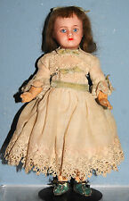 Antique Doll French SFBJ 60 Paris 13/0 Original Compo Body TINY 8""