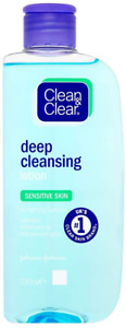 Clean & Clear Deep Cleansing Lotion For Sensitive Skin 200ml