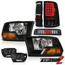 09-18 Dodge RAM 2500 Tail Light Fog Lights Brake Factory Style Headlights SET
