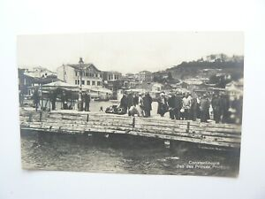 Constantinople Real Photo Postcard showing the Hotel Bretacne - Turkey Istanbul
