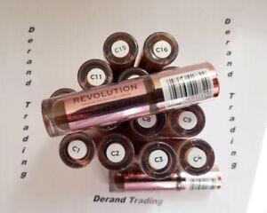 Makeup Revolution Conceal & Define Concealer 18 Shades NEW SEALED