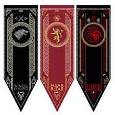 Game Of Thrones- House Stark Tournament Banner Fabric Poster