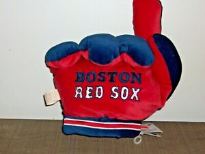 BOSTON RED SOX PLUSH #1 FINGER HANDGLOVE
