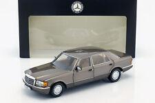 Mercedes-Benz 560 SEL (W126) Baujahr (1985-1991) impala braun 1:18 Norev