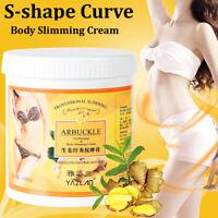 1KG Gingembre Gras Brûlant Anti-cellulite Complet Corps Minceur Gel Crème Poids