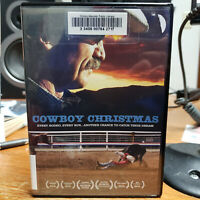 American Rodeo: A Cowboy Christmas DVD Ex Library Free USA Shipping Documentary