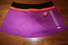 NWT Womens FILA PerformaEnergy Tennis Golf Active Skort Purple 2XL $45