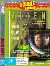 Alien Intruder-1993-Billy Dee Williams/Space Fury-1999-Michael Pare-2 Movie-DVD